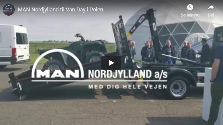 MAN Nordjylland til Van Day i Polen