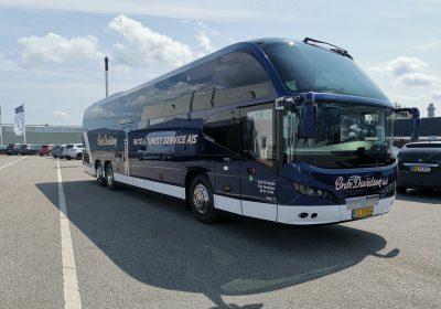 NEOPLAN CITYLINER turistbus tilBrdr. DavidsenRute- og Turistservice