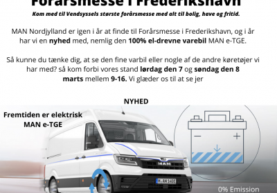 Oplev 3.5t varebil på 100% el til Forårsmesse