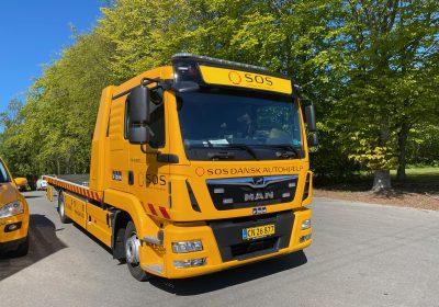 SOS Dansk Autohjælp i Vendsyssel har fået leveret denne flotte MAN TGL