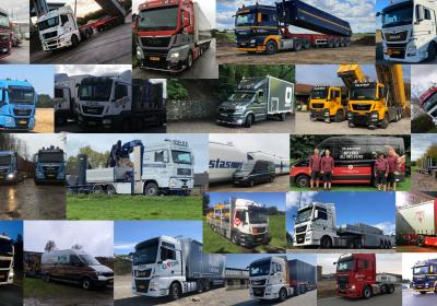 MAN Last- og varebiler rundt om i Nordjylland